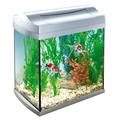 Аквариум Tetra AquaArt 30 белый для золотой рыбки