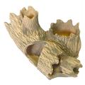 Декор для аквариума Природа Коряга с горшком