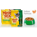 Корм для взрослых котов Meow Mix Indoor Formula, 1кг