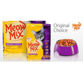 Корм для взрослых котов Meow Mix Original Choice, 175гр