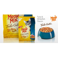 Корм для взрослых котов Meow Mix Tender Centers Tuna & Whitefish Flavors, 175гр