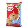 Сухой корм для взрослых котов Мяу! с рыбой, 11кг