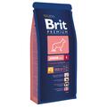 Сухой корм для щенков и молодых собак крупных пород Brit Premium Junior L, 15kg