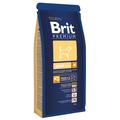 Сухой корм для взрослых собак средних пород Brit Premium Adult M, 15kg