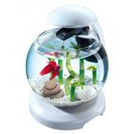 Аквариум Tetra Cascade Globe 6.8 литра белый