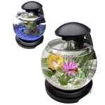 Аквариум Tetra Cascade Globe 6.8 литра чёрный