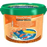 Корм для прудовых рыб Tetra Pond Colour Sticks 10L