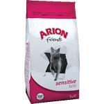 Корм для взрослых котов Arion Friends Adult Sensitive, 3кг