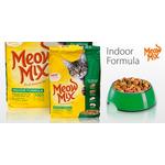Корм для взрослых котов Meow Mix Indoor Formula, 175гр