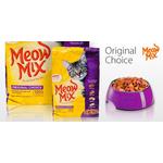 Корм для взрослых котов Meow Mix Original Choice, 7,26кг