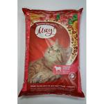 Сухой корм для взрослых котов Мяу с мясом, 11кг