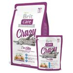 Сухой корм для котят Brit Care Cat Crazy I am Kitten, 0,4kg