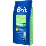 Сухой корм для щенков и молодых собак гигантских пород Brit Premium Junior XL, 15kg