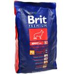 Сухой корм для взрослых собак крупных пород Brit Premium Adult L, 15kg
