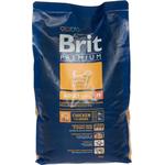 Сухой корм для взрослых собак средних пород Brit Premium Adult M, 3kg