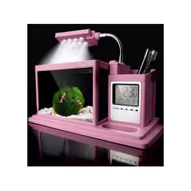 Аквариум Aquael AquaME розовый