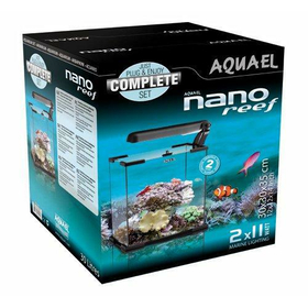 Аквариум Aquael Nano Reef Aquarium Set 30 черный