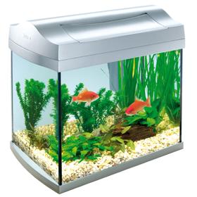 Аквариум Tetra AquaArt 20 белый для золотой рыбки