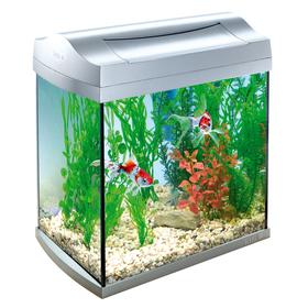 Аквариум Tetra AquaArt 30 серебро для золотой рыбки