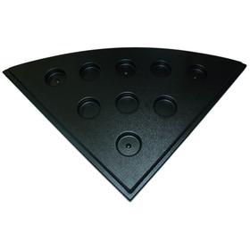 Поддон для аквариума Природа 89x89 угловой черный