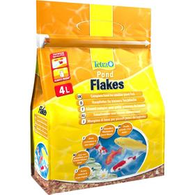 Корм для прудовых рыб Tetra Pond Flakes 4L