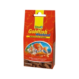 Корм для рыб Tetra Goldfish Weekend 10шт.
