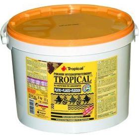 Корм для рыб Tropical 21L /4кг хлопья с высоким содержанием белка