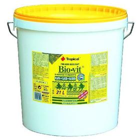 Корм для рыб Tropical Bio-vit 21L /4кг растительные хлопья