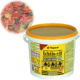 Корм для рыб Tropical Ichtio-vit 5L /1кг хлопья