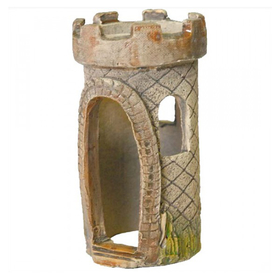 Декор для аквариума Природа Башня—ладья
