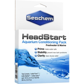 Препарат для воды Seachem Head Start Pack (3 шт. x 100ml)