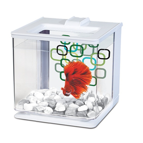 Мини-аквариум Hagen Marina Betta EZ Care, белый