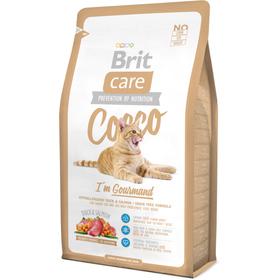 Сухой корм Brit Care Cat Cocco I am Gourmand, 7kg